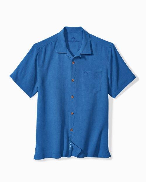 Big & Tall Royal Bermuda IslandZone® Camp Shirt