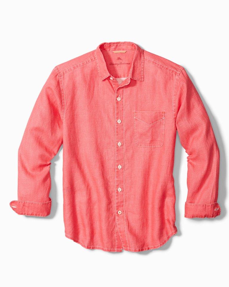 Main Image for Big & Tall Sea Glass Breezer Linen Shirt