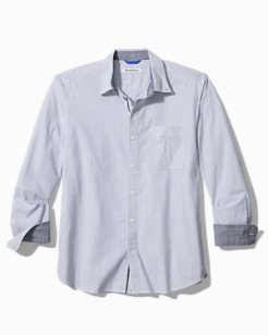 Big & Tall Oxford Isles Stripe Stretch Shirt