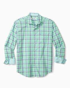 Big & Tall Newport Coast Palmira Plaid IslandZone® Shirt