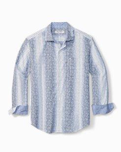 Big & Tall Newport Coast Trellis Vines IslandZone® Shirt