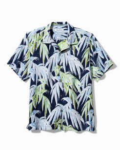 Big & Tall Perfect Palmday Linen Camp Shirt