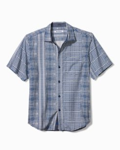 Big & Tall Bay Street Blues Camp Shirt