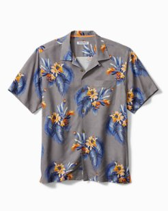 Big & Tall Nassau Blooms Camp Shirt