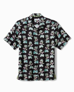 Big & Tall Martini Island Camp Shirt