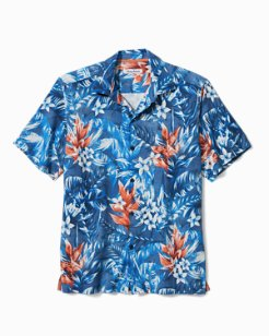 Big & Tall Aloha Lei IslandZone® Camp Shirt