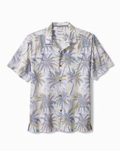 Big & Tall Palm Exposure IslandZone® Camp Shirt