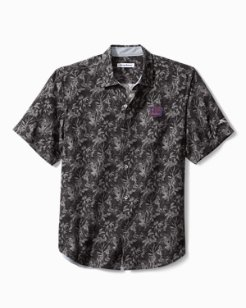 Big & Tall NFL Sport Jungle Shade Silk Camp Shirt