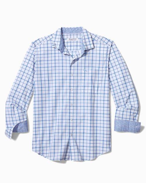 Big & Tall Newport Coast Sea Check IslandZone® Shirt