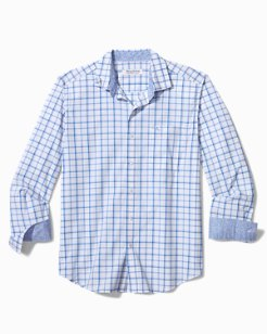 Big & Tall Newport Coast Sea Check IslandZone® Shirt