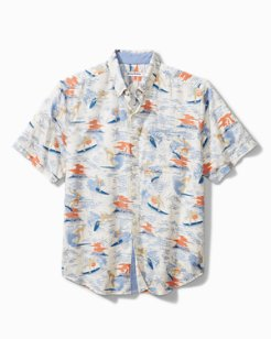 Big & Tall Surf Safari Camp Shirt