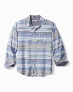 Big & Tall Island Sky Flannel Shirt