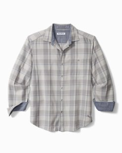 Big & Tall Sandy Isles Plaid Flannel Shirt