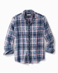 Big & Tall Indigo Beach Shirt