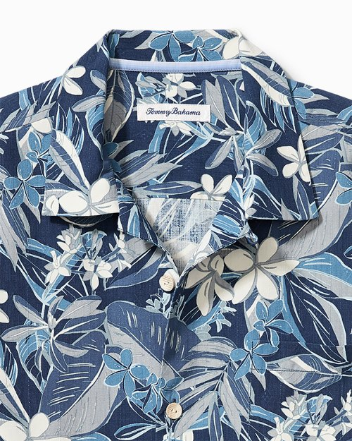Big & Tall Paradise Plumeria IslandZone® Camp Shirt