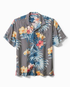 Big & Tall Paradise Palace Camp Shirt