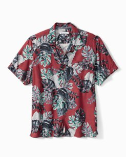 Big & Tall Festive Foliage IslandZone® Camp Shirt