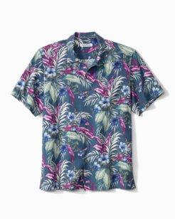 Big & Tall Evening Blooms IslandZone® Camp Shirt
