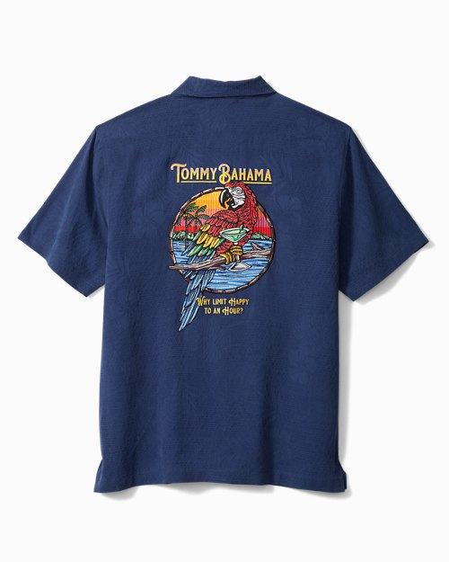 Big & Tall Happy Hour Camp Shirt