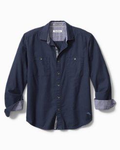 Big & Tall Beach Fire Flannel Shirt