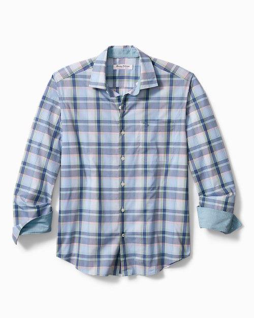 Big & Tall Newport Coast Paradise Plaid Shirt