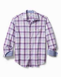 Big & Tall Newport Coast Paradise Plaid Shirt