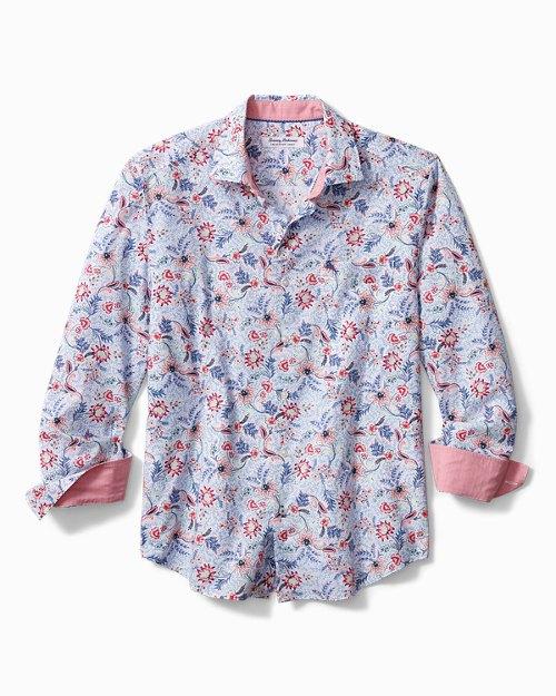 Big & Tall Newport Coast Ibiza Blooms Shirt