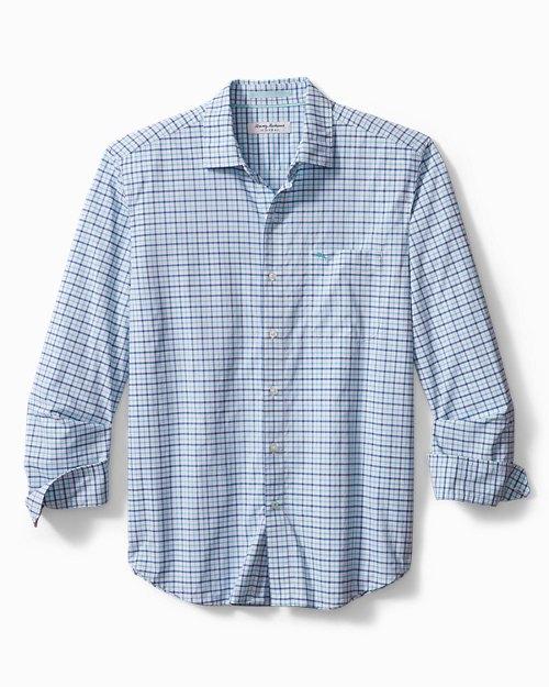 Big & Tall Siesta Key Nuevo Check IslandZone® Shirt