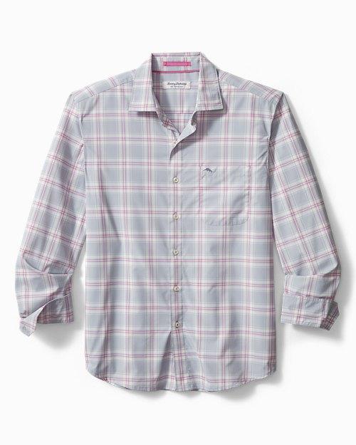 Big & Tall Siesta Key Nassau Plaid IslandZone® Shirt