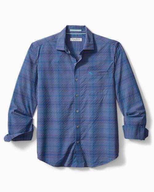 Big & Tall Siesta Key Charter Check IslandZone® Shirt