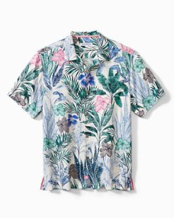 Big & Tall Garden Getaway Camp Shirt