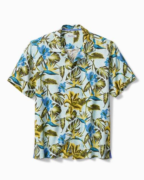 Big & Tall Artist Series Tikis In The Tropics Camp Shirt