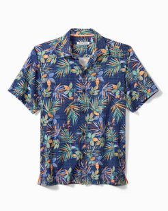 Big & Tall Tide Pool Blooms Camp Shirt
