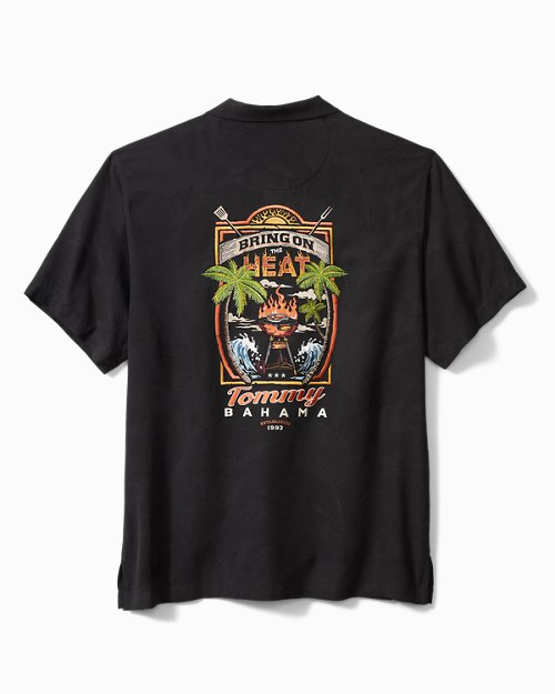 Big & Tall Bring On The Heat Camp Shirt