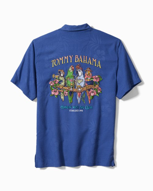 Big & Tall Hangin' With The Guys Camp Shirt