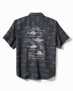 Big & Tall Artist Series Billfish Billboard Camp Shirt