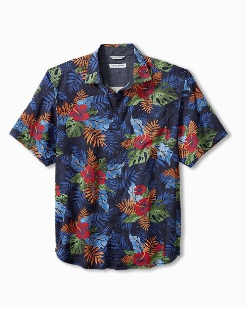 Big & Tall Royal Botanic Camp Shirt