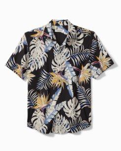Big & Tall Bahama Coast Fronds Camp Shirt