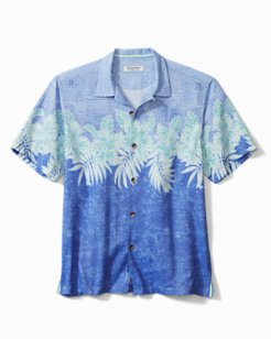 Big & Tall Coconut Point Across The Frond Camp Shirt