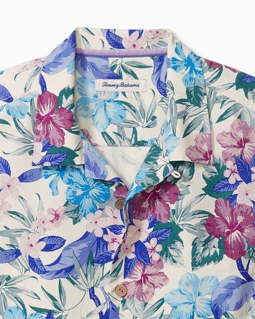 Big & Tall Queensland Gardens IslandZone®Camp Shirt