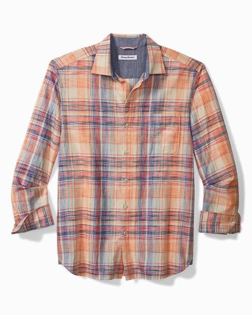 Big & Tall Dundee Madras Shirt