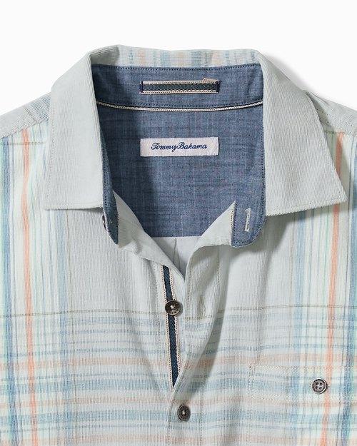 Big & Tall Coastline Corduroy Surf Plaid Shirt