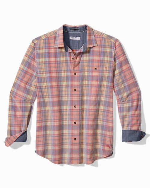 Big & Tall Coastline Corduroy Acacia Plaid Shirt