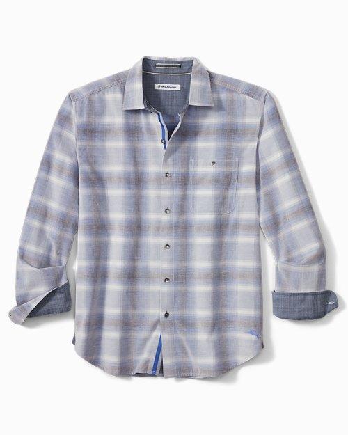 Big & Tall Coastline Cord Sunfade Plaid Shirt