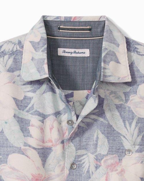 Big & Tall Coastline Cord Flora Fade Shirt