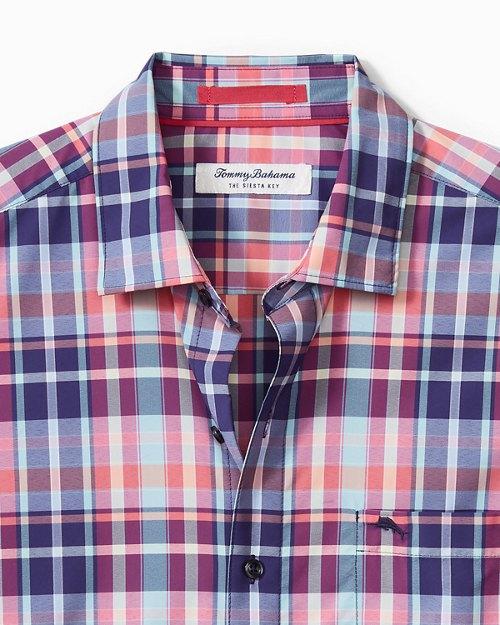 Big & Tall Siesta Key Melbourne Madras IslandZone® Shirt