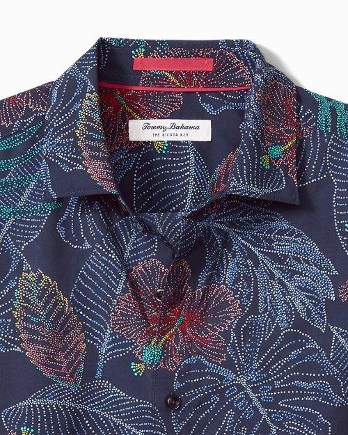 Big & Tall Siesta Key Etched Fronds IslandZone® Shirt