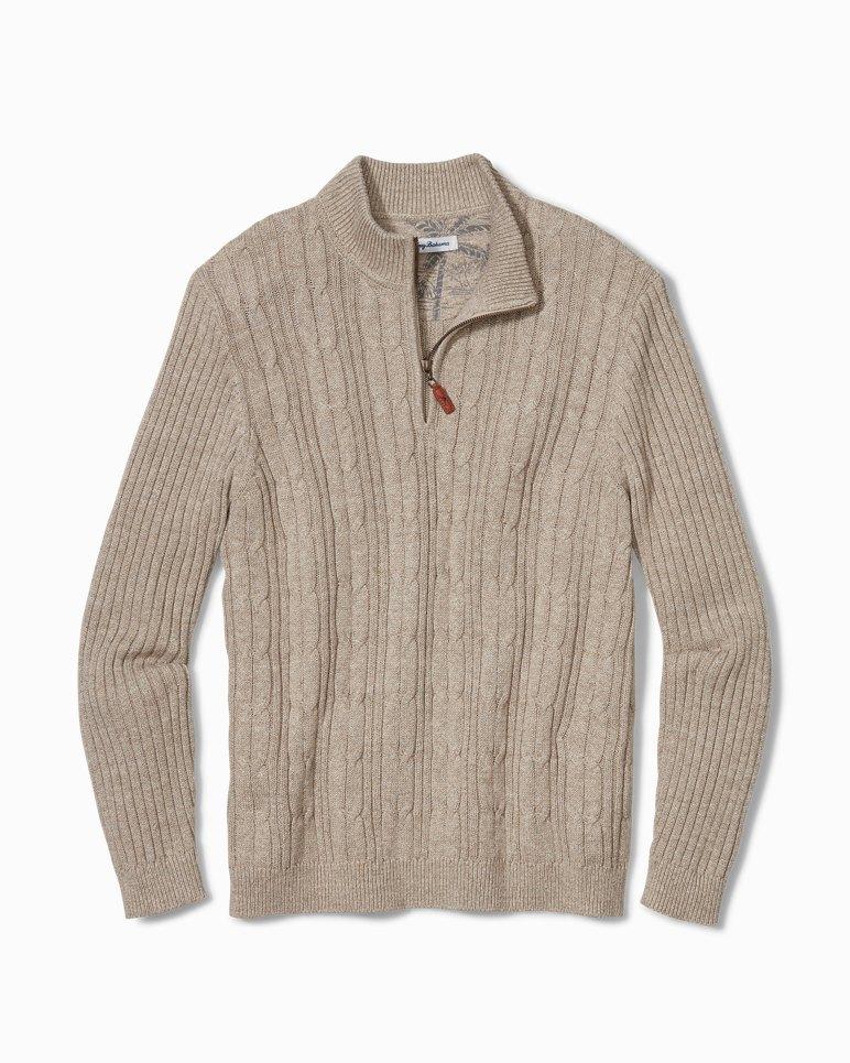 Main Image for Big & Tall Tenorio Half-Zip Sweater