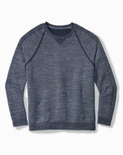 Big & Tall Di Sabbia Flip Reversible Sweater