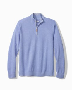 Big & Tall Coolside IslandZone® Half-Zip Sweater